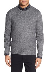 Men's Jack Spade 'Bromley' Trim Fit Crewneck Sweater Grey