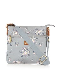 Ollie And Nic Daisy Small Crossbody Bag Grey