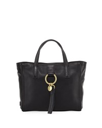 Cole Haan Fantine O Ring Group Small Tote Bag Black