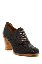 Alberto Fermani Woven Oxford Pump Black
