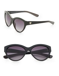 Vince Camuto 70Mm Cats Eye Sunglasses Black