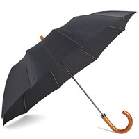 London Undercover Maple Telescopic Umbrella Black