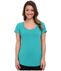 Lucy S S Workout Tee Meadow Women's Workout Green