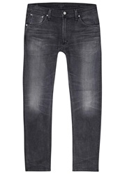 Citizens Of Humanity Bowery Grey Straight Leg Jeans