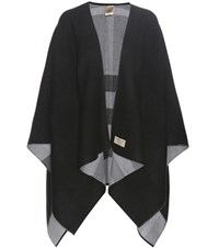 Burberry Reversible Wool Cape Grey