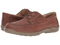 Finn Comfort Surfside Saddle Seta Men's Shoes Brown