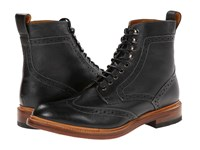 Stacy Adams Madison Ii Wingtip Black Milled Leather Men's Lace Up Wing Tip Shoes