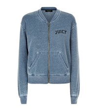 Juicy Couture Burnout Terry Jacket Female Grey