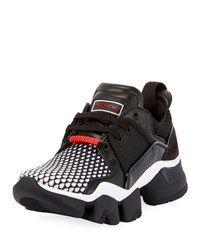 Givenchy Jaw Low Top Running Sneakers White Black