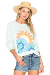 Wildfox Couture Sun And Surf Top Mint