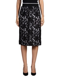Clover Canyon Knee Length Skirts Black