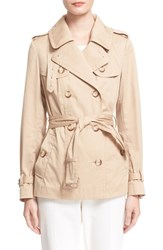 Women's Moncler 'Moustelle' Water Resistant Trench Coat
