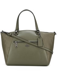 Coach Medium Double Handles Tote Green