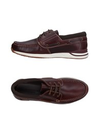 Lumberjack Lace Up Shoes Maroon
