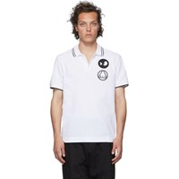 Mcq By Alexander Mcqueen White Chester Polo