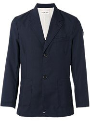 Universal Works Double Button Blazer Blue