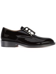 Givenchy Laceless Oxford Shoes Black