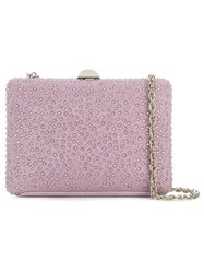 Rodo Embellished Clutch Bag Pink And Purple