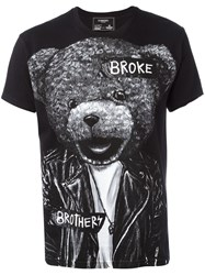 Dom Rebel 'Bear' T Shirt Black