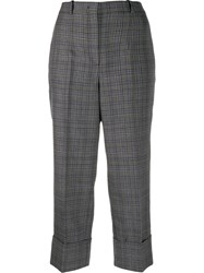 Michael Kors Collection Check Print Trousers 60