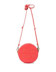 Sanctuary Leather Crossbody Brunch Bag Red