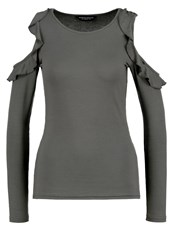 Dorothy Perkins Long Sleeved Top Grey
