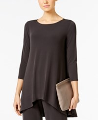 Alfani High Low Jersey Tunic Top Only At Macy's Pure Cinder