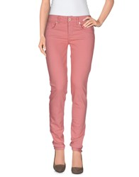 Blugirl Folies Denim Denim Trousers Women Pink