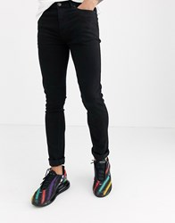 Another Influence Infleunce Skinny Noa Jeans In Black