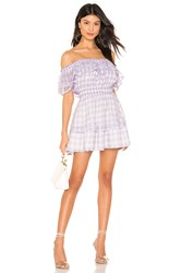 Majorelle Ashlee Mini Dress Purple