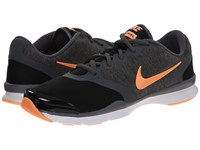 Nike In Season Tr 4 Black Dark Grey White Sunset Glow Women's Cross Training Shoes