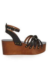 Isabel Marant Etoile Zia Leather Wedges