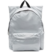 Raf Simons Silver Eastpak Edition Poster Backpack