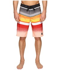 Quiksilver Everyday Stripe Vee 21 Boardshorts Black Men's Swimwear