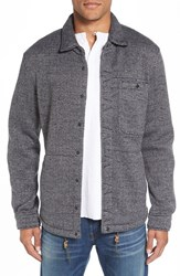 Relwen Men's Herringbone Shirt Jacket