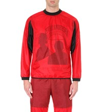 Astrid Andersen X Krept And Konan Shell Sweatshirt Red