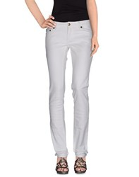 Just Cavalli Denim Denim Trousers Women White