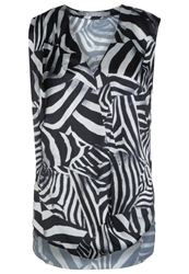 Tiger Of Sweden Perfect Blouse Schwarz Weiss White