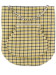 Victoria Beckham Tweed Shopping Tote Yellow