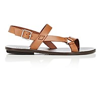 Barneys New York Men's Slingback Strap Sandals Tan