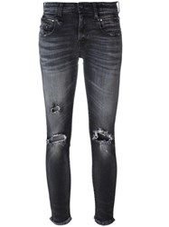 R 13 R13 Ripped Jeans Grey