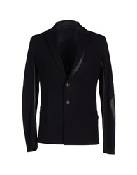 Gentryportofino Suits And Jackets Blazers Men Black