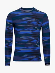 Bjorn Borg Hamilton Long Sleeve Training Top Frequency Blue