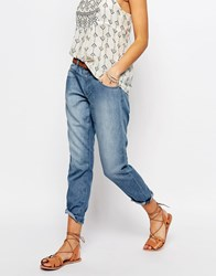Esprit Chambray Slouchy Jeans Light Blue
