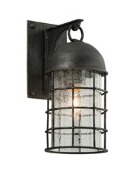 Troy Lighting Charlemagne Outdoor Wall Light Gray
