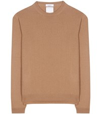 Valentino Rockstud Untitled Cashmere Sweater Brown