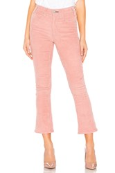 Mcguire Cropped Gainsbourg Cord Pink