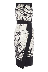 Coast Mary Origami Dress Monochrome