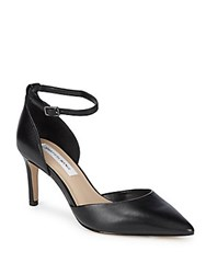 Saks Fifth Avenue Mia Leather D'orsay Pumps Black