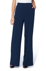 Catherine Malandrino Women's Warren Stretch Crepe Wide Leg Pants